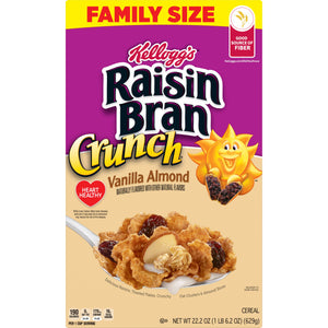 Kellogg's Raisin Bran Crunch Vanilla Almond (22.2oz)