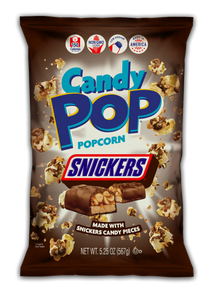 Candy Pop Snickers Popcorn (5.25 oz)