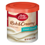 Betty Crocker Rich and Creamy Cream Cheese Frosting (16oz)