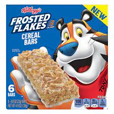 Kellogg's Frosted Flakes Cereal Bars 6-(4.8oz)