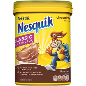 Nesquik Chocolate Powder Drink Mix (10oz)