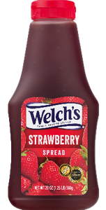 Welch's Squeeze Strawberry Spread (20oz)