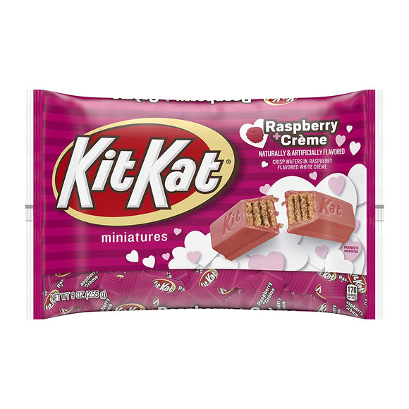 Kit Kat Raspberry Cream Miniatures (9oz)