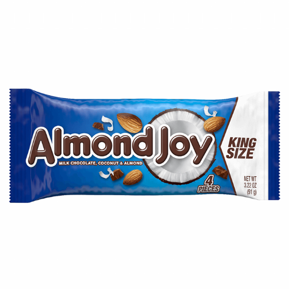 Almond Joy Milk Chocolate King Size (3.22oz)