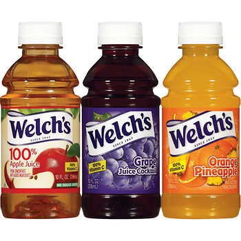 Welch's Apple, Grape, Orange Pineapple Juice (10oz)
