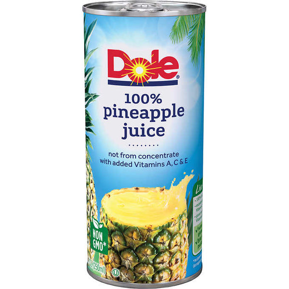 Dole 100% Pineapple Juice (8.4oz)