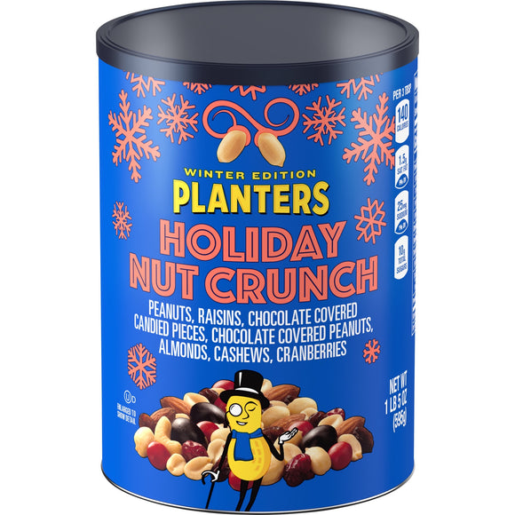Planters Winter Edition Holiday Nut Crunch (21oz)