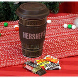 Hersheys Travel Mug with Hershey's Miniature milk chocolate bars (1.2oz)