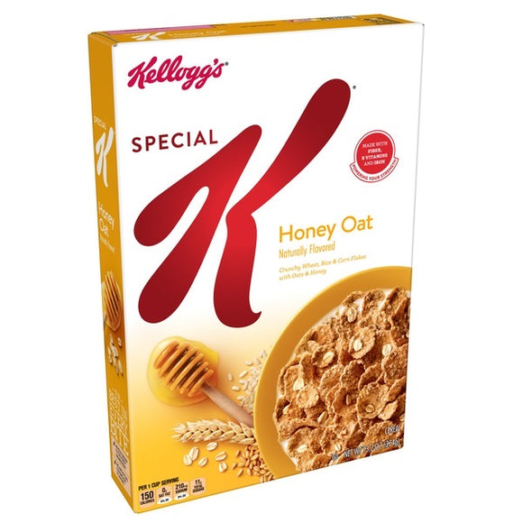 Kellogg's Special K Honey Oat Cereal (13.2oz)