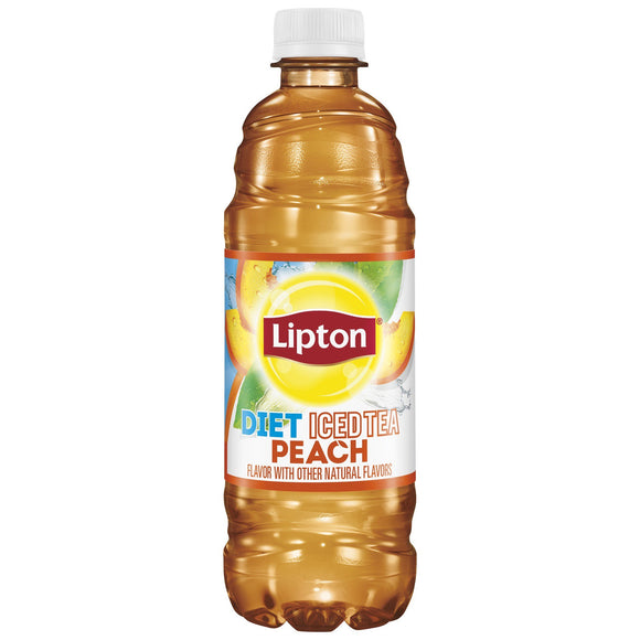 Lipton Diet Peach Iced Tea (16.9oz)