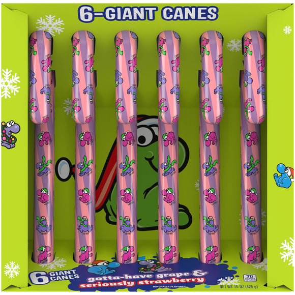 Nerds Giant Candy Canes (15oz)