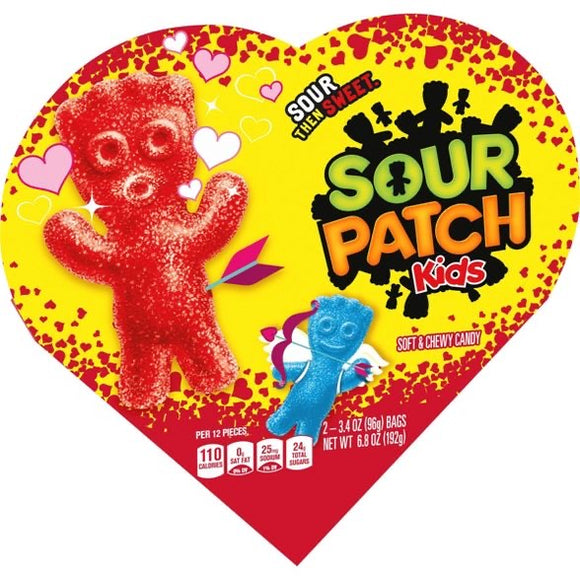 Sour Patch Kids Valentine's Candy Heart (6.8oz)