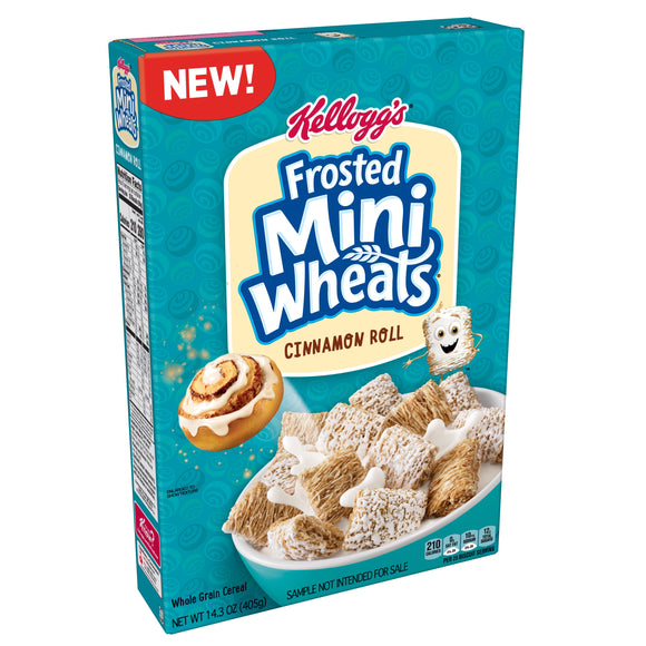 Kellogg's Frosted Mini Wheats Cinnamon Roll (14.3oz)