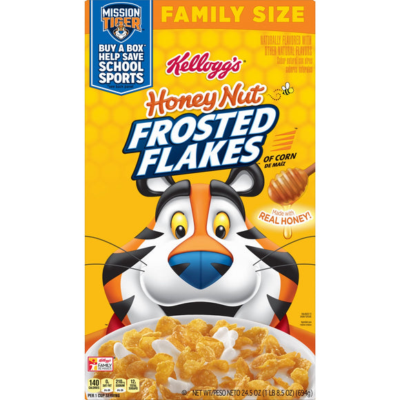 Kellogg's Honey Nut Frosted Flakes (24.5oz)