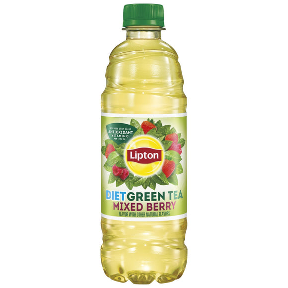 Lipton Diet Mixed Berry Green Tea (16.9oz)