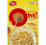 Post Honey Oh's Cereal Filled O's (14oz)