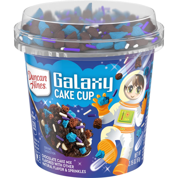 Duncan Hines Galaxy Cake Chocolate Cake Mix with Sprinkles (2.15oz)