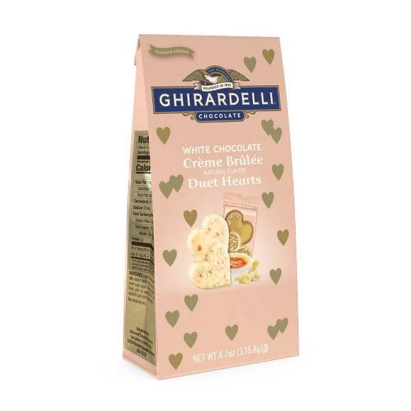 Ghirardelli Valentine's White Chocolate Créme Duet Hearts Bag (4.7oz)