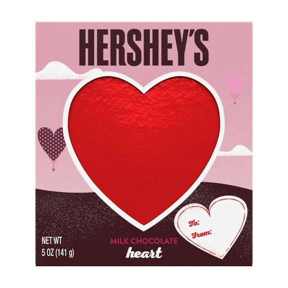 Hershey's Solid Milk Chocolate Heart (5oz)