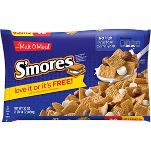 Malt-O-Meal S'mores Super Size 30oz)