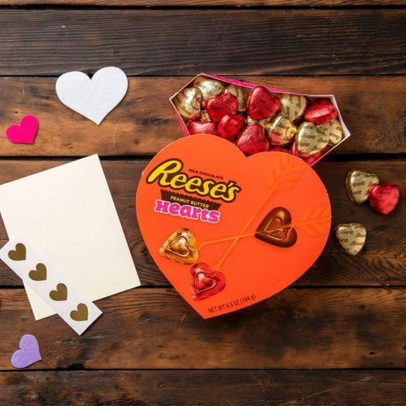 Reese's Valentine's Peanut Butter Hearts (6.5oz)