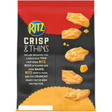 Ritz Crisp & Thins Cheddar Chips (7.1oz)