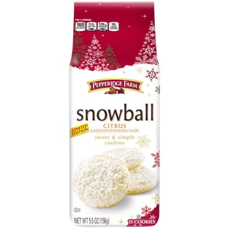 Pepperidge Farm Snowball Citrus Cookies (5.5oz)