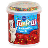 Pillsbury Funfetti Radiant Red Frosting (15.6oz)