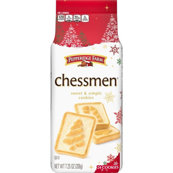 Pepperidge Farm Chessmen Butter Cookies (7.25oz)