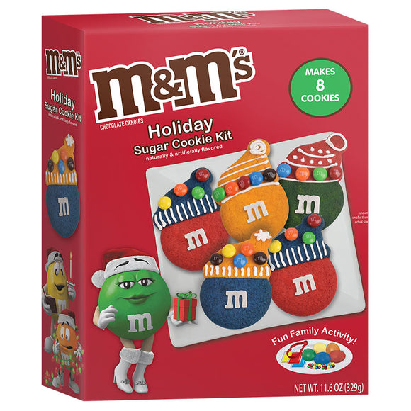 M&M's Holiday Sugar Cookie Kit