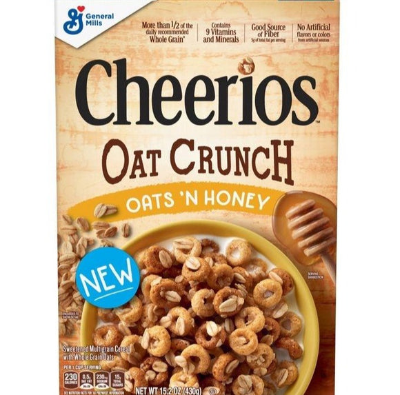 Cheerios Oat Crunch Oats & Honey (15.2oz)