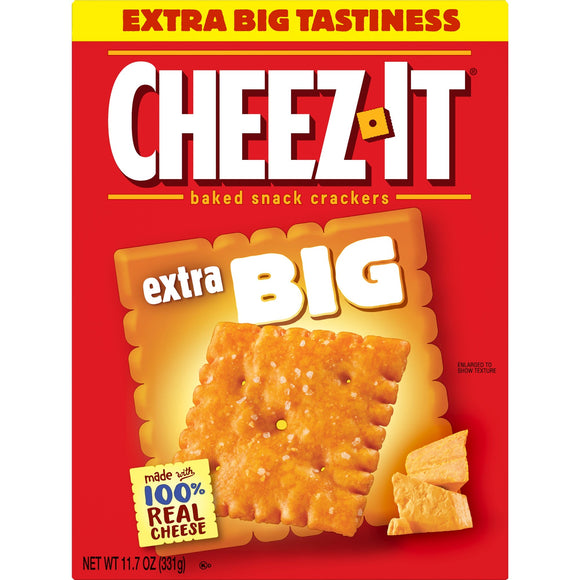 Cheez-It Baked Snack Cheese Crackers Extra Big (11.7oz)