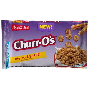 Malt-O-Meal Churr-O's Super Size (30.5oz) Bag