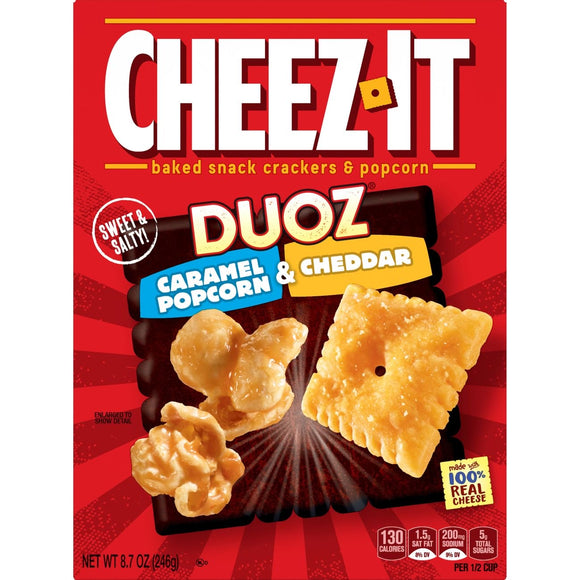 Cheez-It Caramel Popcorn & Cheddar (8.7oz)