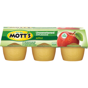 Mott's Unsweetened Applesauce 6-(3.9oz) Cups