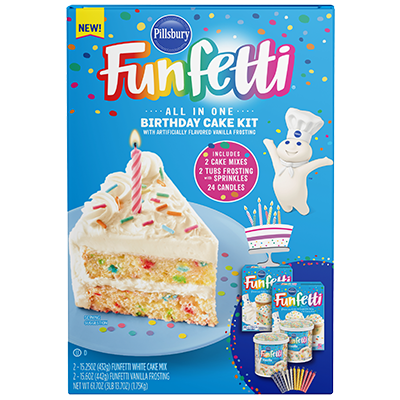 Funfetti Birthday Cake Kit (61.7oz)