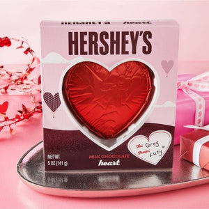 Hershey's Valentine's Solid Milk Chocolate Heart (5oz)