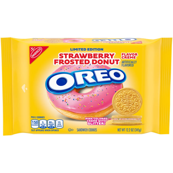 OREO Strawberry Frosted Donut Creme (12.2oz)