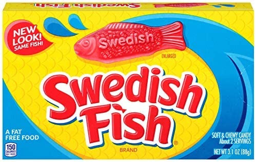 Swedish Fish Theatre Box (3.1oz)