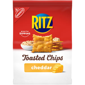 Ritz Toasted Chips Cheddar (8.1oz)