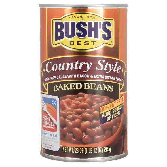 Bush's Best Country Style Baked Beans (28oz)