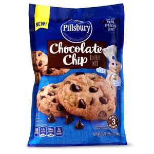 Pillsbury Chocolate Chip Cookie Mix (17.5oz)
