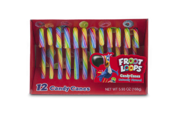Kellogg's Froot Loop Candy Canes (5.93oz)