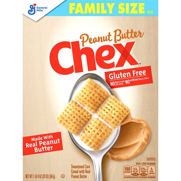 Chex Cereal Peanut Butter Gluten Free (20oz)