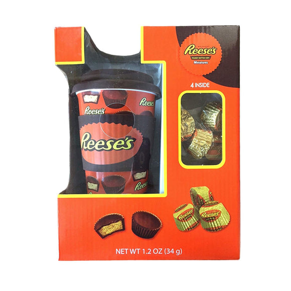 Reese's Travel mug with Reese's Miniature Cups (1.20oz)