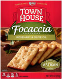 Keebler, Town House Focaccia Crackers Rosemary and Olive Oil (9oz)