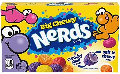 Nerds Big Chewy Candy Video Box (4.25oz)