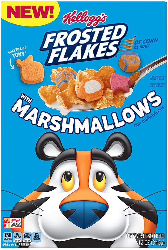Frosted Flakes with Marshmallows (12oz)