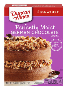 Duncan Hines Signature Perfectly Moist German Chocolate Cake Mix (15.25oz)