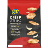 RITZ Crisp and Thins Original with Creamy Onion and Sea Salt (7.1oz)